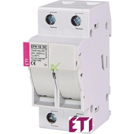 Разъединитель EFH 10 2P 25A 1000V DC