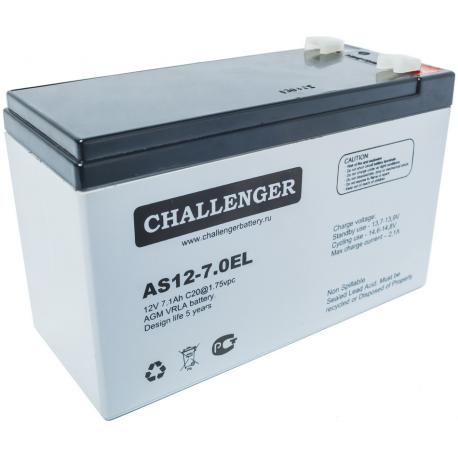 Акумуляторна батарея Challenger AS12-7,0EL
