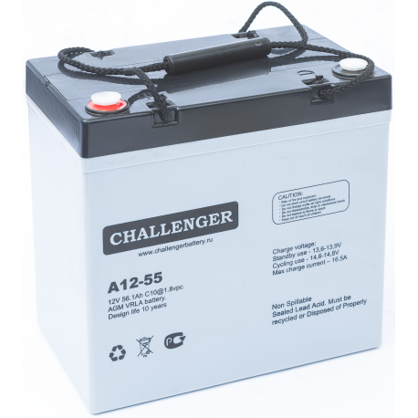 Акумуляторна батарея Challenger A12-55