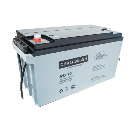 Акумуляторна батарея Challenger A12-70
