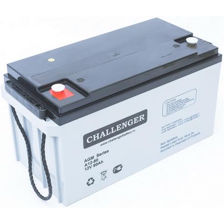Акумуляторна батарея Challenger A12-80
