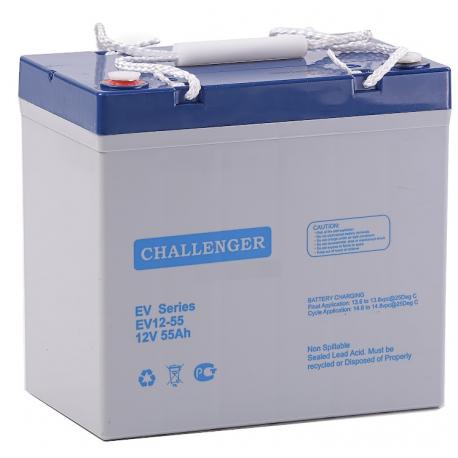 Акумуляторна батарея Challenger EV12-55