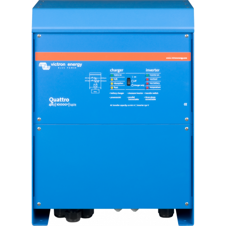 Інвертор Victron Energy Quattro 48/10000/140-100/100