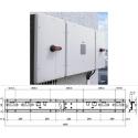 Комплект для монтажу на стіну ABB TRIO-50.0-TL-OUTD Power MODULE
