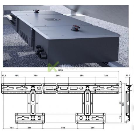 Комплект для монтажу горизонтально ABB TRIO-50.0
