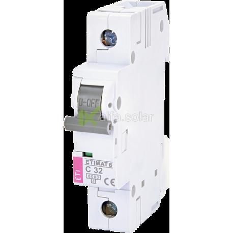 Автоматичний вимикач ETI ETIMAT 6 C 32