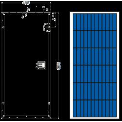 Сонячна батарея Axioma AX-60P