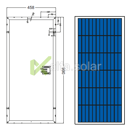 Солнечная батарея Axioma AX-60P