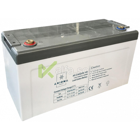 Свинцово-углеродный аккумулятор AXIOMA ENERGY AX-Carbon-100