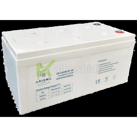 Свинцево-вуглецевий акумулятор AXIOMA ENERGY AX-Carbon-200