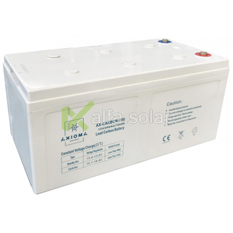 Свинцово-углеродный аккумулятор AXIOMA ENERGY AX-Carbon-200