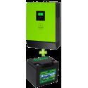 Комплект ИБП для котла (до 30кВт) и системы отопления (комплект 1)