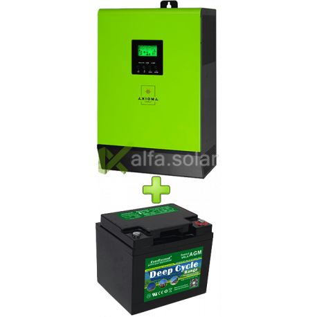 Комплект ИБП для котла (до 15кВт) и системы отопления