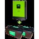 Комплект ДБЖ для котла (до 30 кВт) і системи опалення 400Ah
