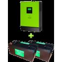 Комплект ИБП для котла (до 30кВт) и системы отопления (комплект 3)