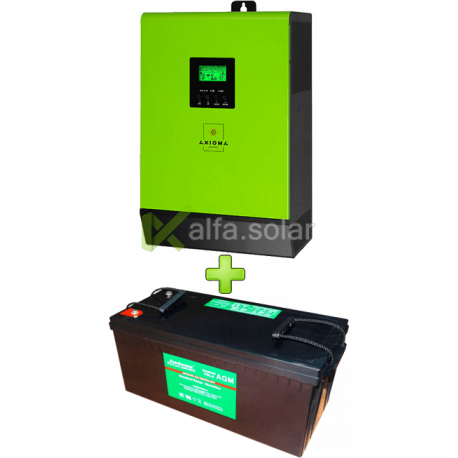 Комплект ИБП для котла (до 30кВт) и системы отопления 200Ah