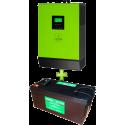 Комплект ИБП для котла (до 30кВт) и системы отопления (комплект 2)