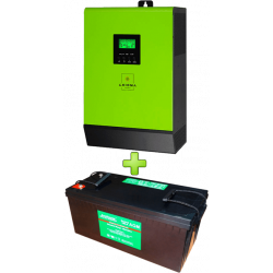 Комплект ИБП для котла (до 15кВт) и системы отопления 200Ah