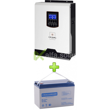 Комплект ИБП для котла (до 7кВт) и системы отопления