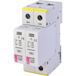 Ограничитель перенапряжения для PV (DC) ETITEC C T2 PV 550/20