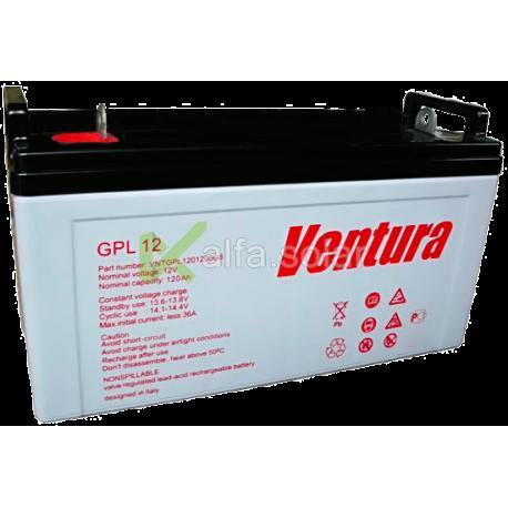 Акумуляторна батарея Ventura GPL 12-120