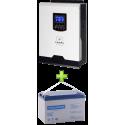 Комплект ИБП для котла (до 15кВт) и системы отопления (вариант 1)