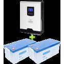 Комплект ИБП для котла (до 30кВт) и системы отопления (вариант 3)