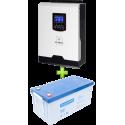 Комплект ИБП для котла (до 30кВт) и системы отопления (вариант 2)