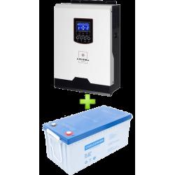 Комплект ДБЖ для котла (до 10кВт) і системи опалення 200Ah