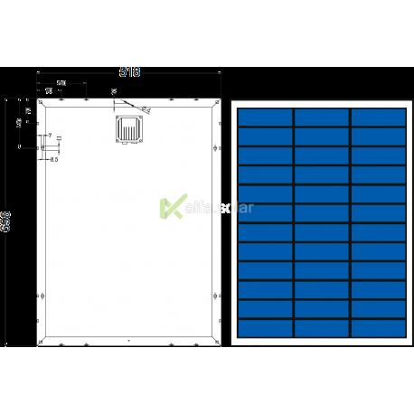 Сонячна батарея Axioma AX-50P