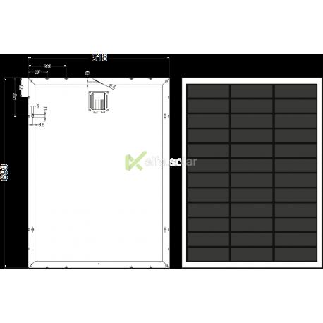 Сонячна батарея Axioma AX-50M