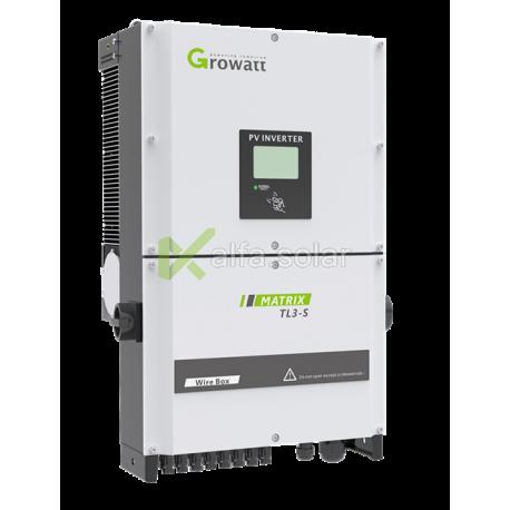 Мережевий інвертор Growatt 20000 TL3-S