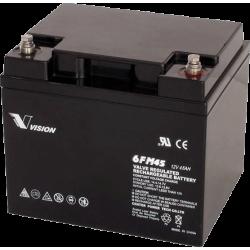 Акумуляторна батарея Vision 6FM45 12V 45Ah