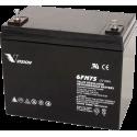 Аккумуляторная батарея Vision 6FM75 12V 75Ah