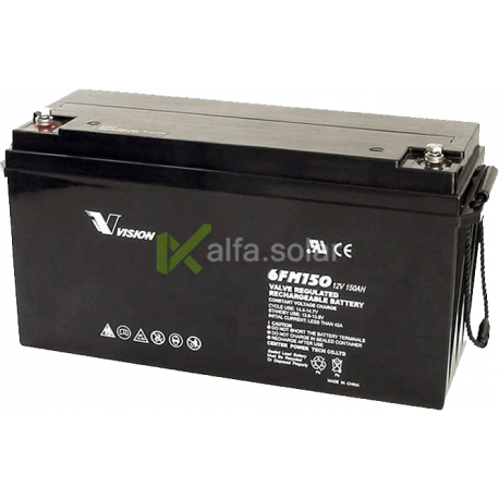 Аккумуляторная батарея Vision 6FM120 12V 120Ah