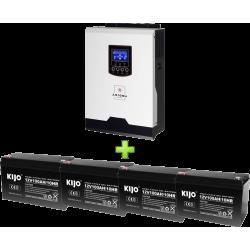 Комплект ДБЖ для котла (до 30кВт) та системи опалення (4 АКБ)