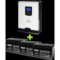 Комплект ИБП для котла (до 30кВт) и системы отопления 300Ah