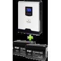 Комплект ИБП для котла (до 30кВт) и системы отопления
