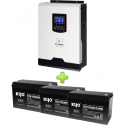 Комплект ИБП для котла (до 15кВт) и системы отопления 300Ah