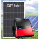 Сетевая солнечная электростанция 20кВт PrimeVOLT + C&T Solar