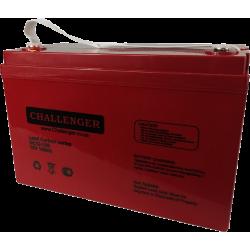 Свинцево-вуглецевий АКБ Challenger DC12-100C (12V100Ah)