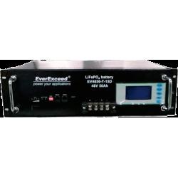 Літій-залізо-фосфатний акумулятор (LiFePO4) EverExceed EV4850-T-15D (48В50Aг)