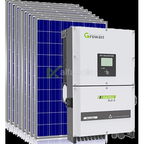 Сетевая солнечная электростанция 30кВт (вариант 2)