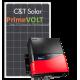 Сетевая солнечная электростанция 10кВт PrimeVOLT + C&T Solar