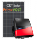 Сетевая солнечная электростанция 15кВт PrimeVOLT + C&T Solar