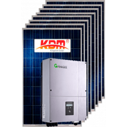 Мережева сонячна електростанція 5кВт