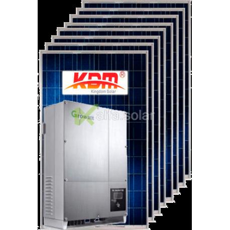 Мережева сонячна електростанція 10кВт