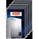 Сетевая солнечная электростанция 10кВт (II вариант)