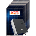 Сетевая солнечная электростанция 5кВт (I вариант)