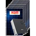 Сетевая солнечная электростанция 10кВт (I вариант)